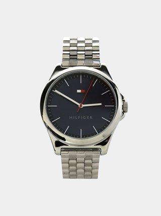 Pánske hodinky s nerezovým remienkom v striebornej farbe Tommy Hilfiger