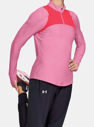 Růžové dámské tričko Qualifier Under Armour