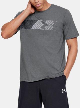 Šedé pánské tričko Fast Under Armour