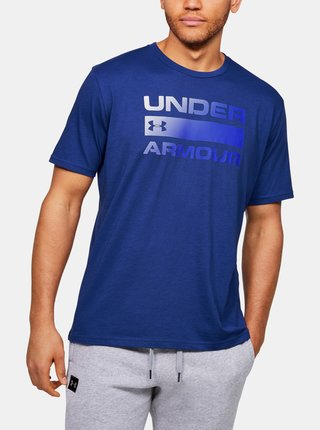 Modré pánské tričko Team Issue Wordmark Under Armour