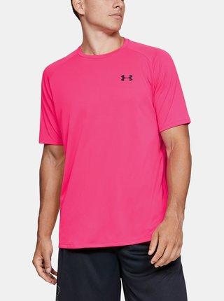 Růžové pánské tričko Under Armour