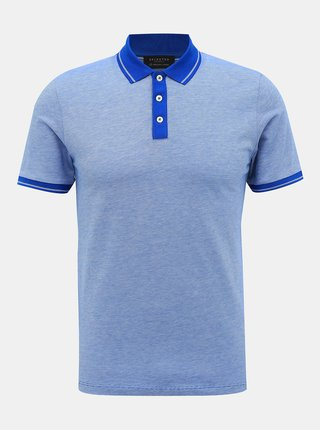 Modré polo tričko Selected Homme Joe