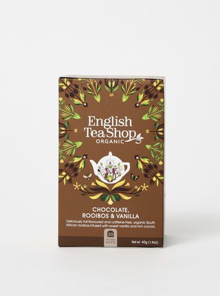 Ceai, cafea si vin English Tea Shop - maro