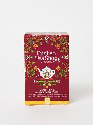 Čierny čaj se zázvorom a broskyňou English Tea Shop