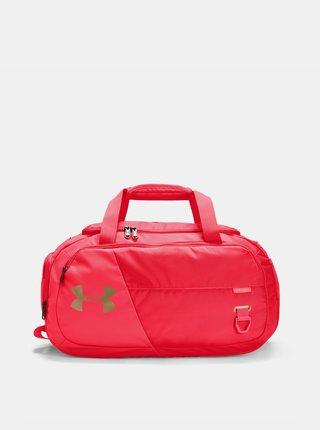 Červená sportovní taška Duffel 30 l Under Armour