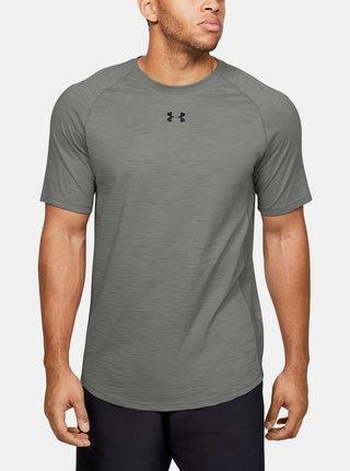 Šedé pánské tričko Charged Under Armour