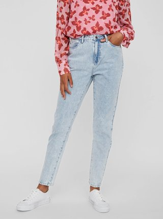 Světle modré slim fit džíny VERO MODA Joana
