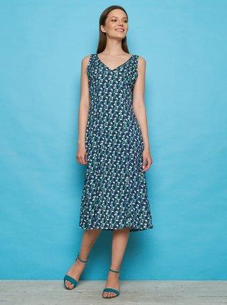 Rochii casual pentru femei Tranquillo - albastru inchis, verde