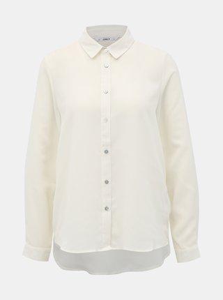 Krémová košile ONLY Alma