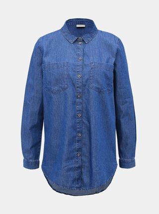 Modrá rifľová košeľa Jacqueline de Yong Roger
