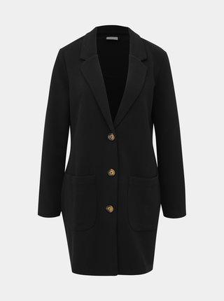 Černý kabát Jacqueline de Yong Stone