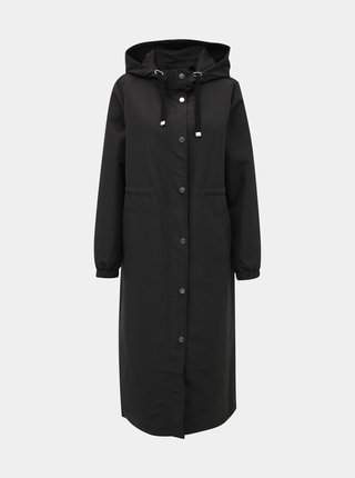Čierny kabát Jacqueline de Yong Phoebe