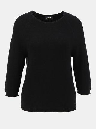 Černý svetr s knoflíky na zádech ONLY Clara