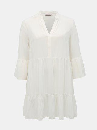 Bílé šaty ONLY CARMAKOMA