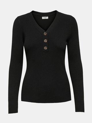 Čierne tričko Jacqueline de Yong Melani