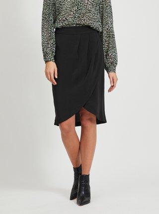 Čierna sukňa VILA Nahla