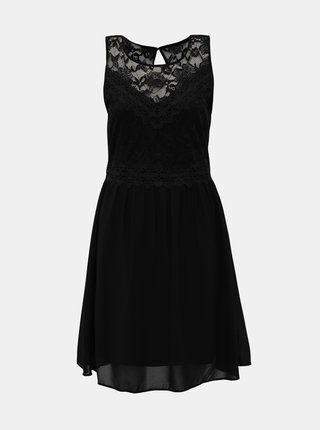 Černé krajkové šaty VILA Sallisa