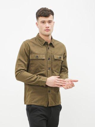Kaki košeľa Lindbergh