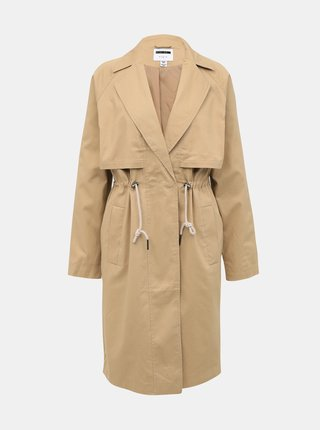 Béžový kabát Noisy May Penna