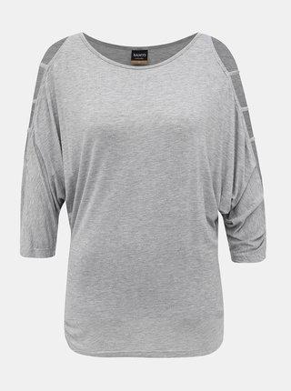 Šedé dámske tričko SAM 73
