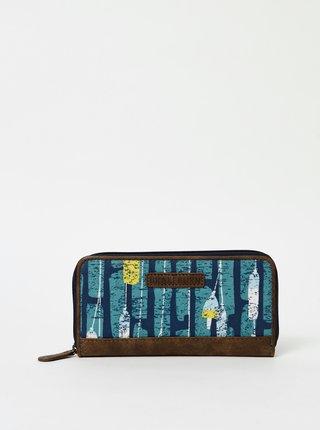 Modrá vzorovaná peňaženka Brakeburn Fender