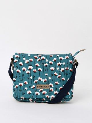 Modrá kvetovaná crossbody kabelka Brakeburn Emily