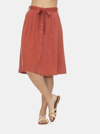 Oranžová sukně Ragwear Lejla