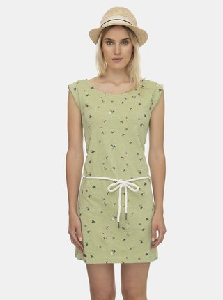 Zelené vzorované šaty Ragwear Tamy