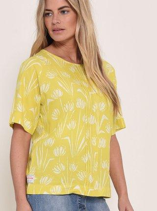Žlutá květovaná halenka Brakeburn