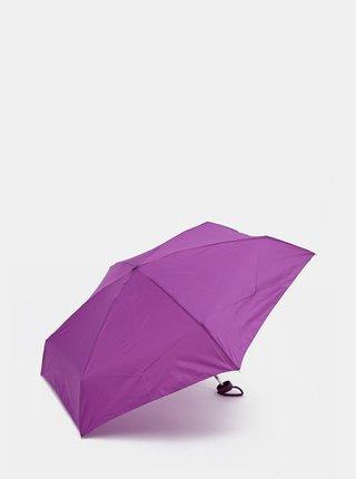 Tmavě růžový deštník Moon
