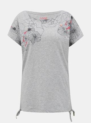 Šedé dámské tričko LOAP Adelie