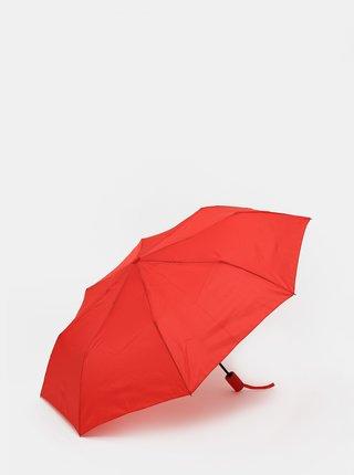 Červený vystřelovací deštník Moon