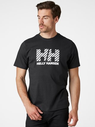Čierne pánske tričko HELLY HANSEN Active