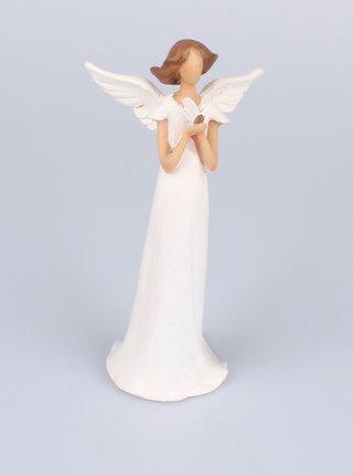 Dekorace ve tvaru anděla Dakls