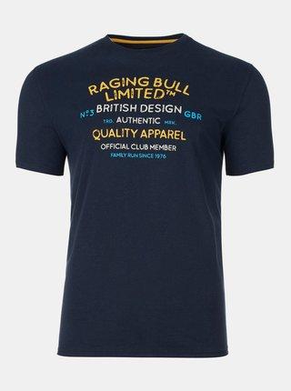 Tmavomodré tričko Raging Bull