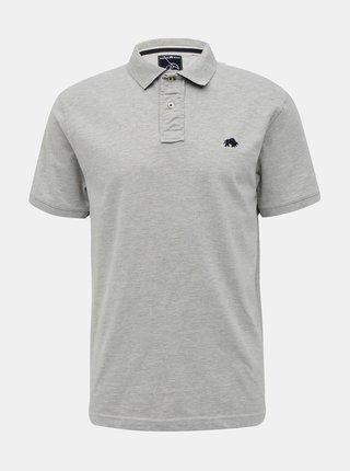 Šedé pánské tričko s krátkým rukávem Raging Bull