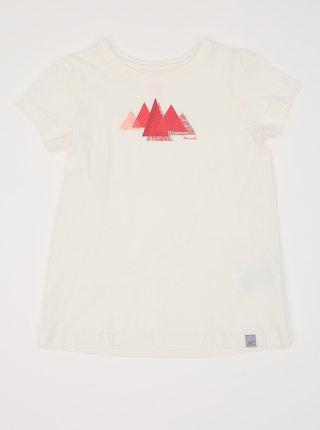 Biele dievčenská tričko s potlačou Hannah Pontela