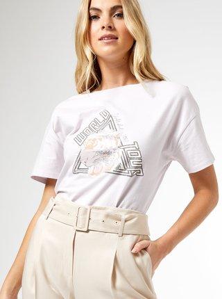Světle fialové tričko Dorothy Perkins