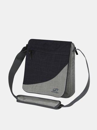 Čierno-šedá crossbody taška Hannah MB A4