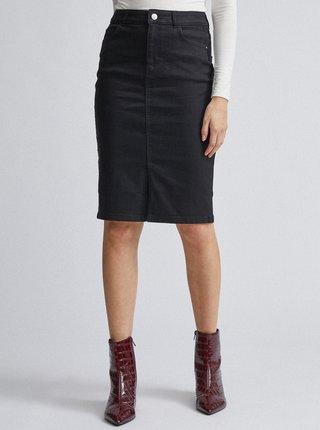 Čierna rifľová sukňa Dorothy Perkins