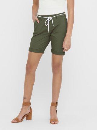 Pantaloni scurti  pentru femei ONLY - verde