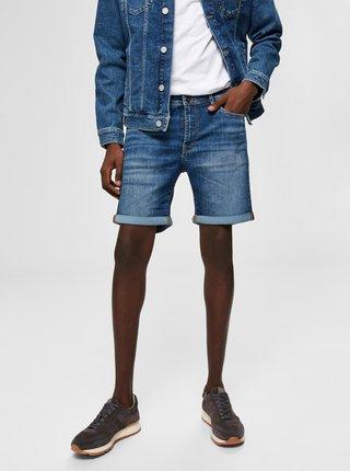 Pantaloni scurti pentru barbati Selected Homme - albastru