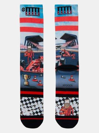 Bielo-modré pánske ponožky XPOOOS