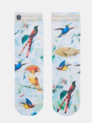 Modro-biele dámske ponožky XPOOOS