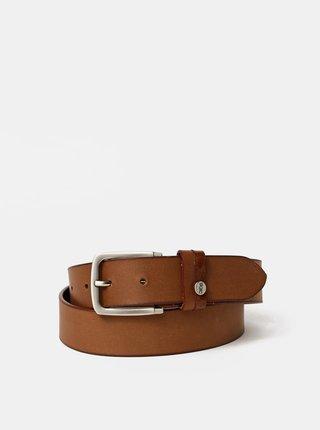 Hnědý kožený pásek Dice Clifton