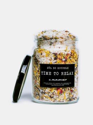 Sůl do koupele Almara Soap Time to relax