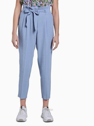 Světle modré dámské zkrácené kalhoty Tom Tailor
