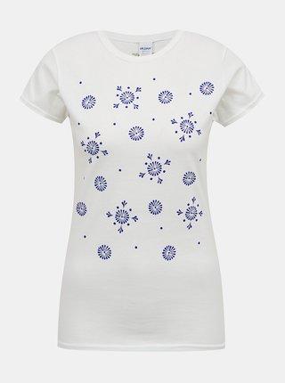 Bílé dámské tričko s potiskem ZOOT Original Kraslice