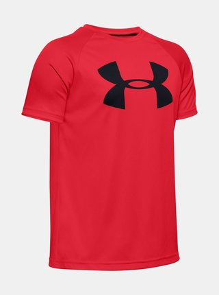 Červené klučičí tričko Under Armour