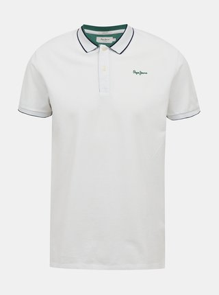 Tricouri polo pentru barbati Pepe Jeans - alb